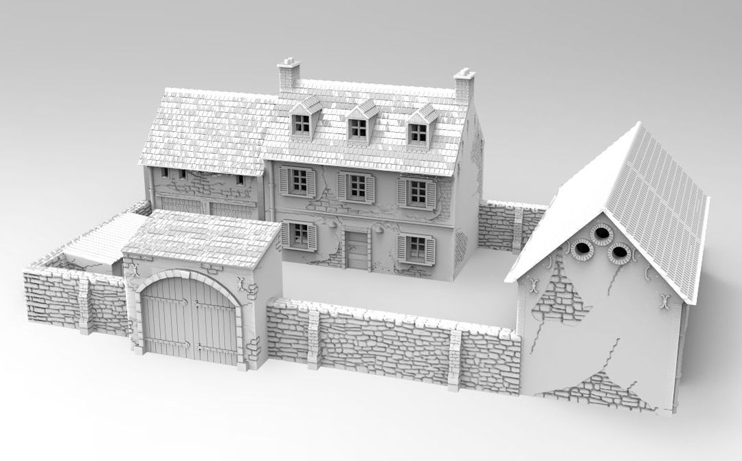 10mm French Farmstead