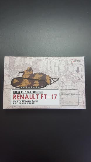 Renault FT17 Riveted Turret - (2 variants in the box)