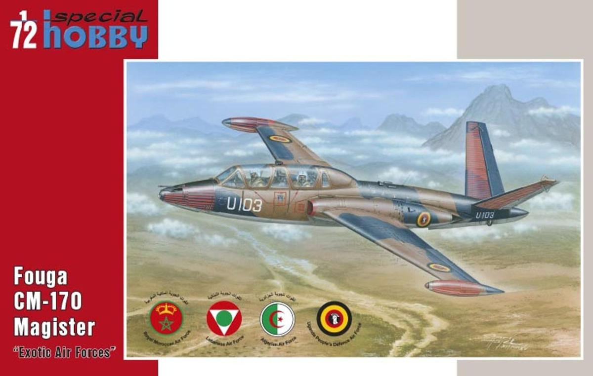 "1/72 Fouga CM.170 Magister ""Exotic Air Forces"""