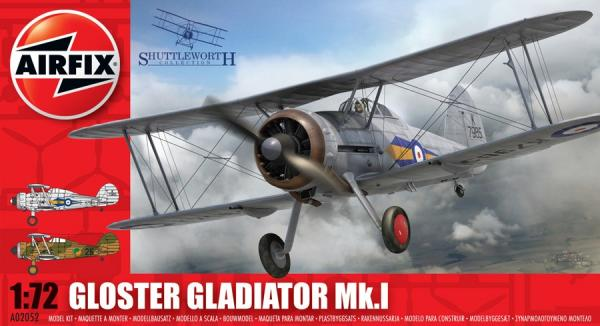 1/72 Gloster Gladiator (Includes Irish Markings)