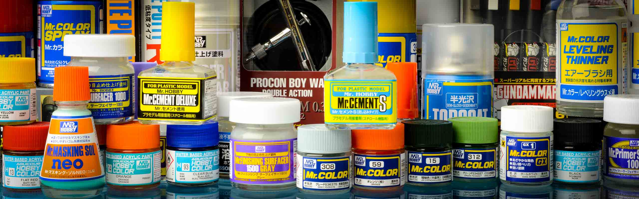 Mr Hobby Glues and thinners