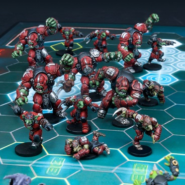 Greenmoon Smackers - Marauder Team (13 Figures)