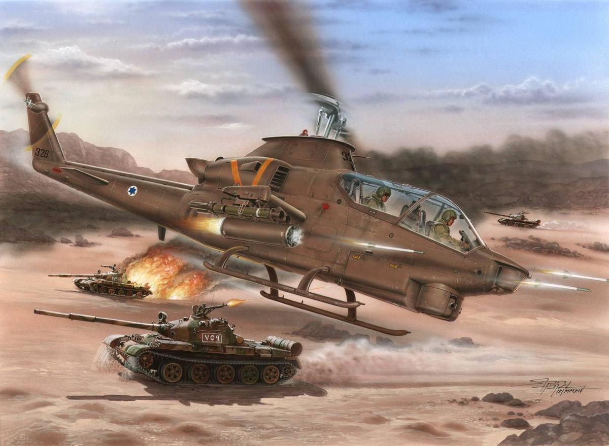 "1/72 AH-1S Cobra ""IDF against Terrorists�"