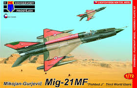 1/72 Mig-21MF Third world users