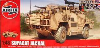 Airfix 1/48 Operation Herrick British Forces Supacat Jackal