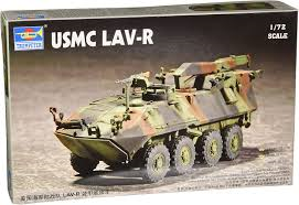 1/72 USMC LAV-R Light Armored Recovery Vehicle