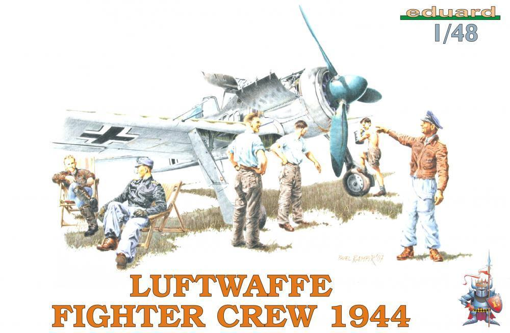 1/48 LUFTWAFFE FIGHTER CREW 1944