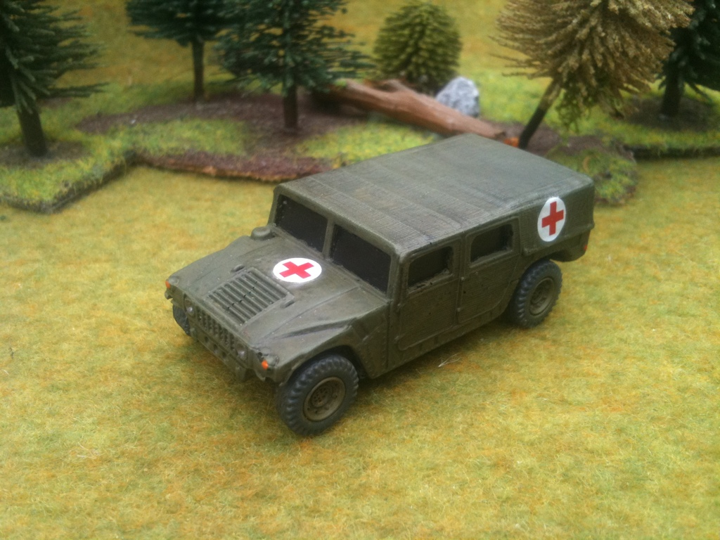 1/72 HMMWV M 1035 Ambulance  (HD2)