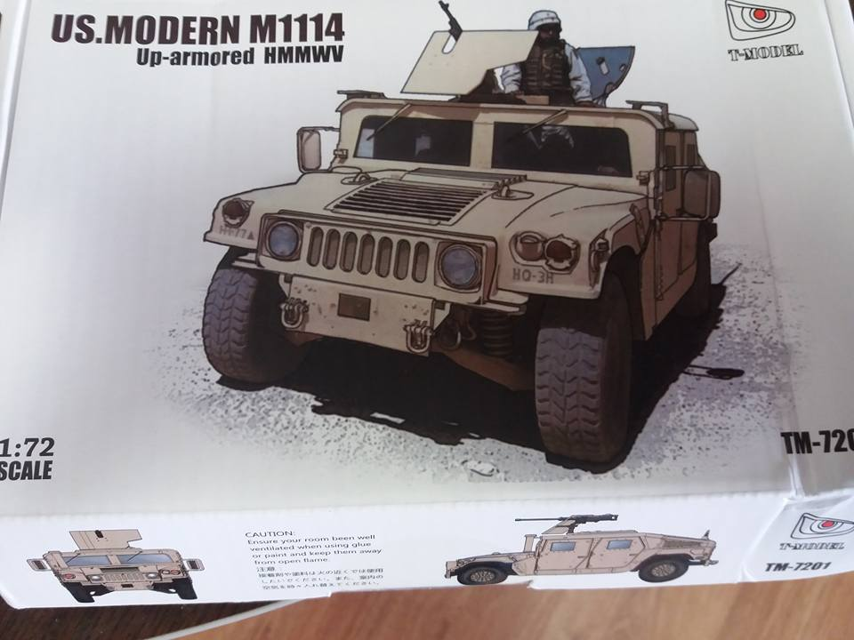 1/72 M1114 Uparmored Hmmwv
