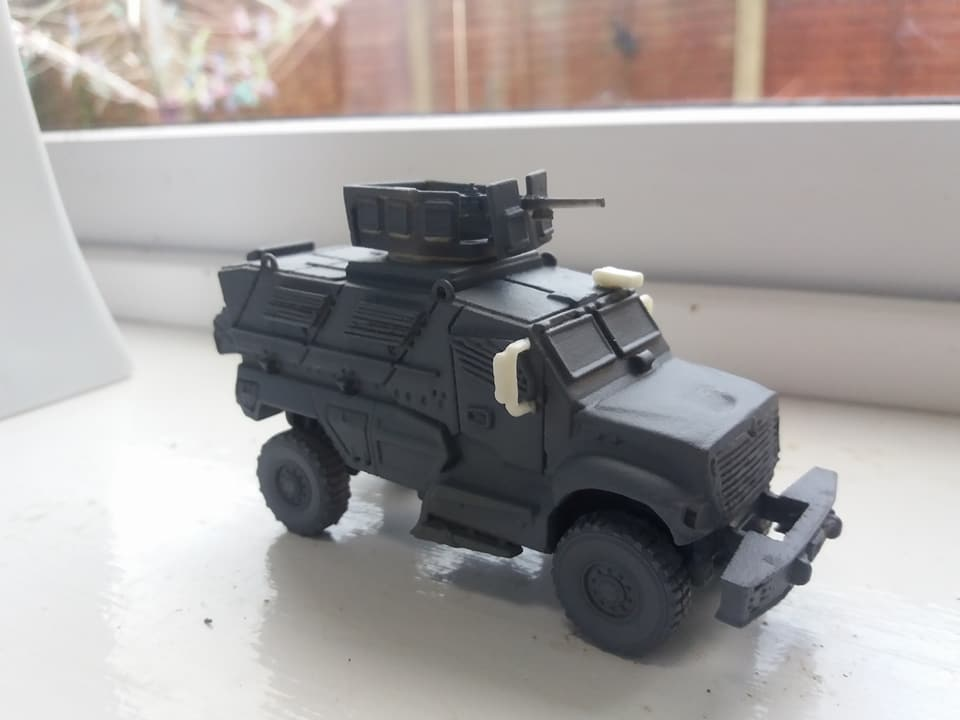 1/72 International MaxxPro  MRAP (HD 101)