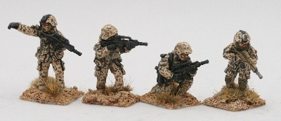 MG01 Modern Germans with G36