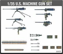 1/35 13262 US WWII MACHINE GUN SET