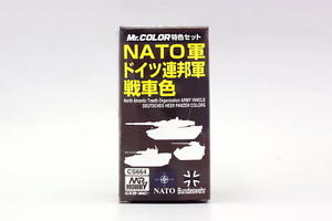NATO Army Vehicle (3) Colors Set - Gunze / Mr. Color 10ml Bottle
