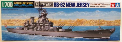 1/700 BB-62 New Jersey