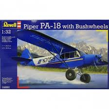 1/32 Piper PA-18 with Bushwheels