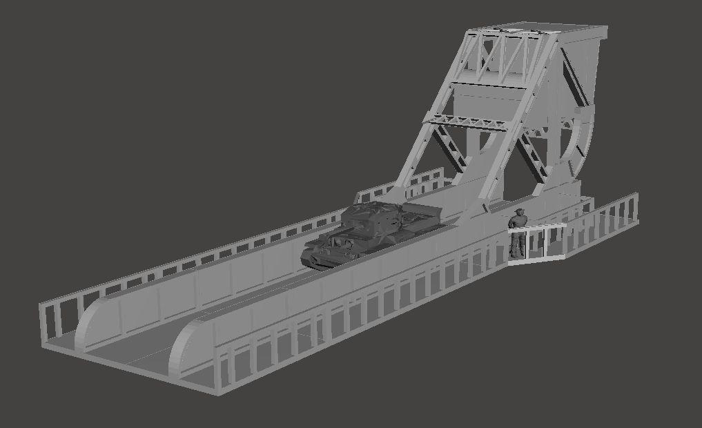 15mm Pegasus Bridge