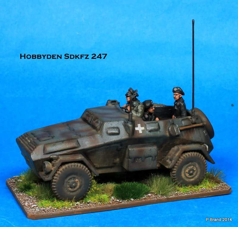 1/72 Sdkfz 247 Armoured Car (HD 59)