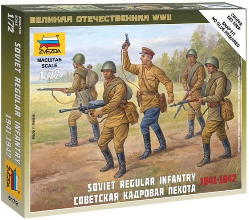 1/72 Soviet Regular Infantry Building Kit (1939-42
