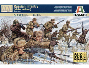1/72 Russian Infantry in Winter Uniform
