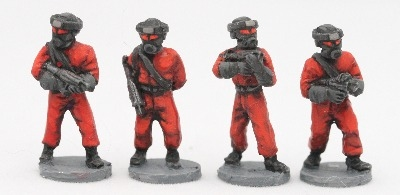 1/72 FCCS01 SIFI08 FED Security with sealed helmets