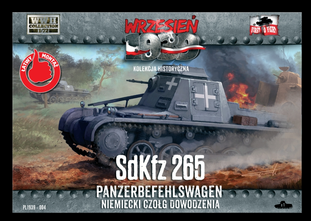 1/72nd First to Fight SdKfz 265 Command Tank