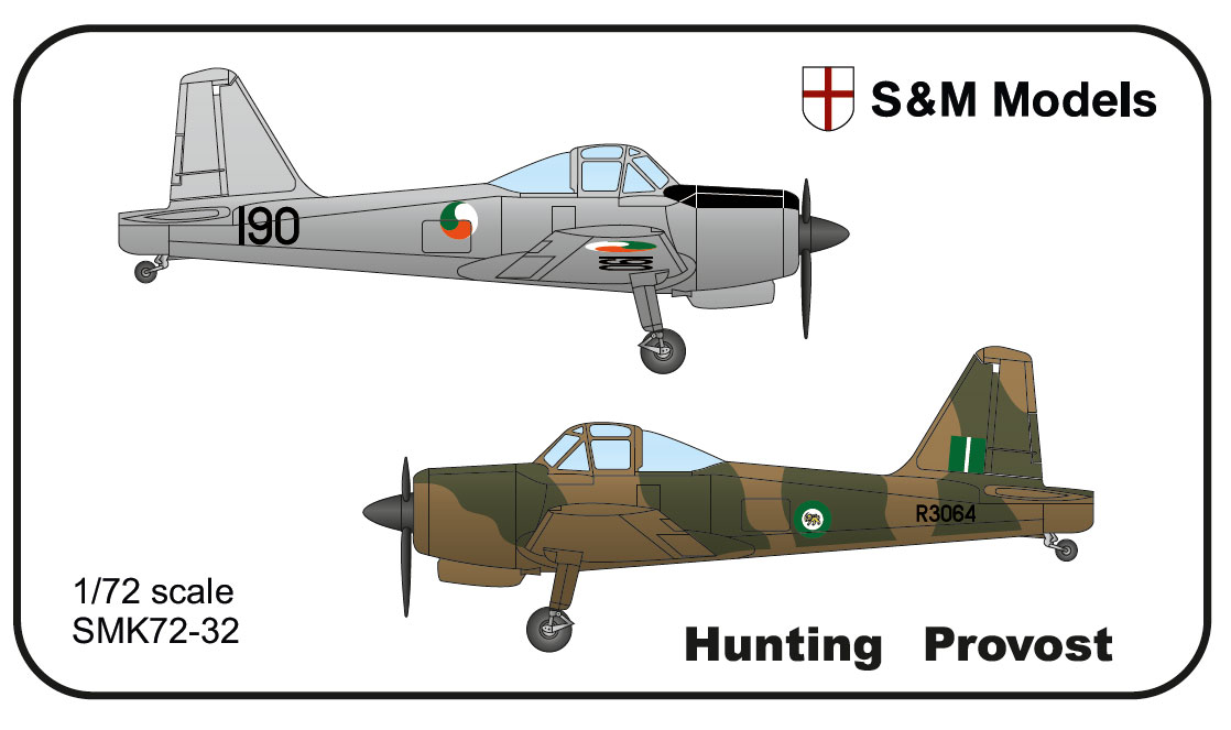 1/72 S&M Hunting Provost Ireland Rhodesia version