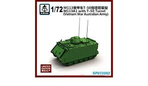 1/72 M113A1 with T50 turret