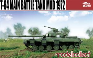 1/72 Modelcollect T-64 main battle tank model 1972 UA72012