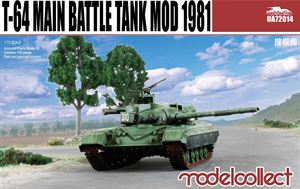 1/72 Modelcollect T-64 main battle tank model 1981 UA72014