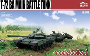1/72 T-72BA Main Battle Tank UA72015