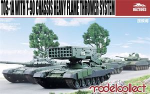 1/72 Modelcollect  TOS-1A with T-90 Chassis Heavy Flame Thrower