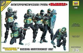 1/35 Vympel Russian Antiterrorist Unit