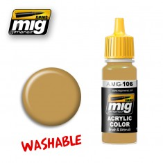 A.MIG-106 WASHABLE SAND (RAL 8020)