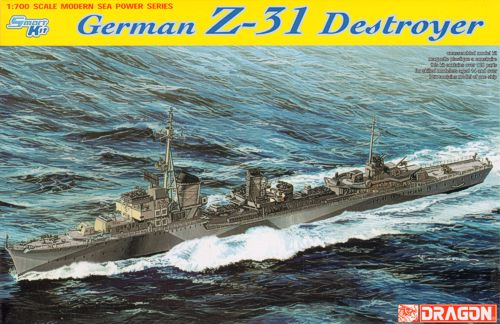 1/700 German Z31 destroyer